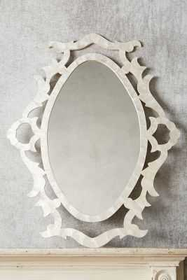 Villanette Mirror - Oval - Anthropologie