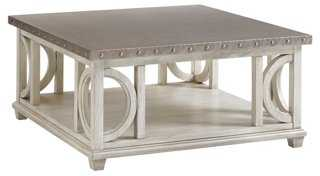 Litchfield Coffee Table, Oyster - One Kings Lane