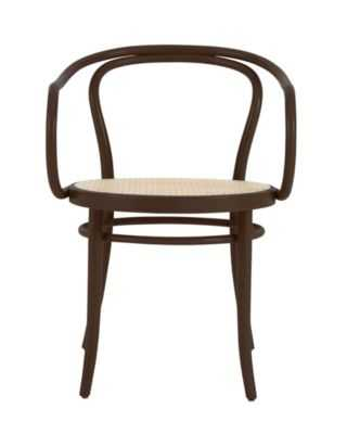 Era Round Armchair with Cane Seat - Coffee - Design Within Reach