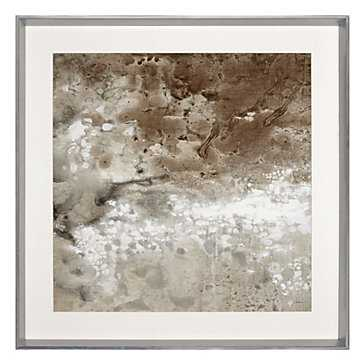 Earthen 2 - 33.5''W x 33.5''H - framed - Z Gallerie