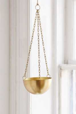 Hanging Metal Planter - Bronze - Urban Outfitters