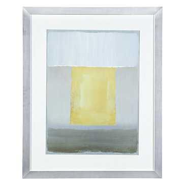 Half Light 2 - 26.5''W x 32.5''H  -Silver frame with mat - Z Gallerie