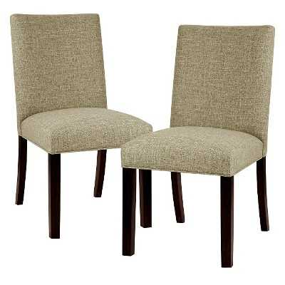 Parsons Dining Chair Wood - Taupe - Target