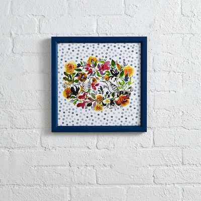 Floral Wreath Wall Art - Land of Nod