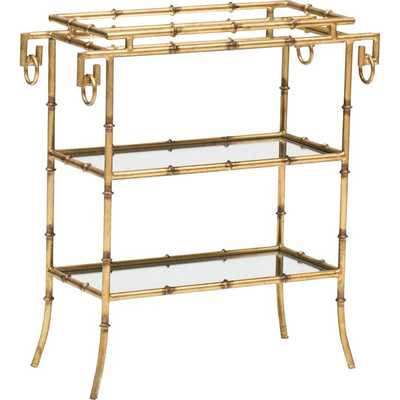 Bamboo 3-Tier Tray Table - High Fashion Home