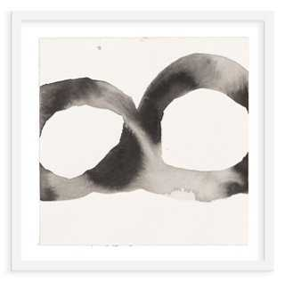 """Jen Garrido, Black & White Loop II - 32"""" x 32"""" - framed - One Kings Lane"""
