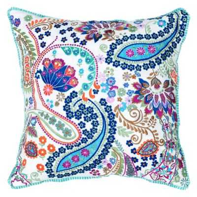 Rizzy Home Paisley Throw Pillow 18x18 with insert - Kohl's