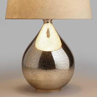 Martina Aged Mirror Table Lamp Base - World Market/Cost Plus