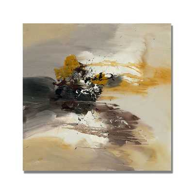 "Rio 'Abstract II' Canvas Art -18''x 18""-Unframed - Overstock"