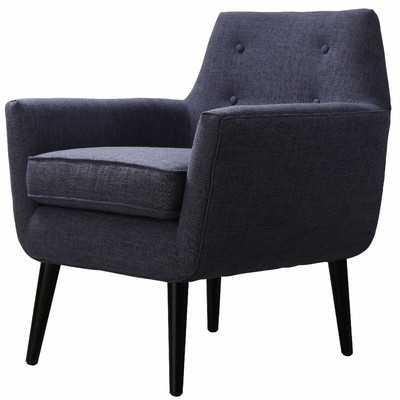 Kalman Arm Chair - Navy - Wayfair