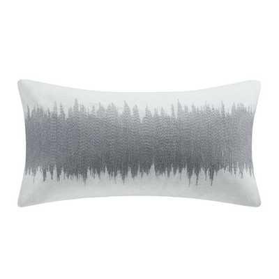"""Shagreen Cotton Lumbar Pillow - 12""""x22"""" - Polyester fill - AllModern"""