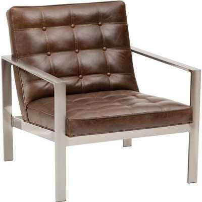 Nigel Leather Chair - High Fashion Home
