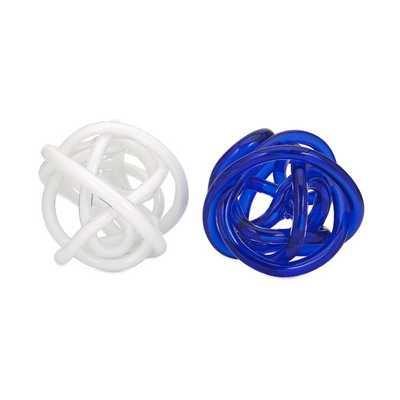 Athens Decorative Oversized Glass Knot - AllModern