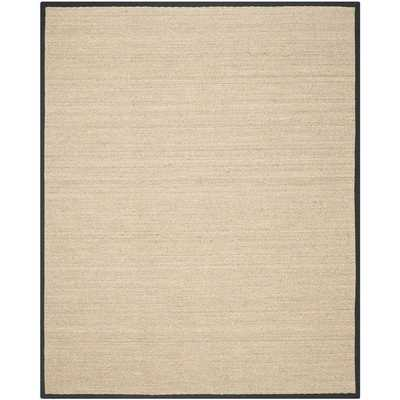 Safavieh Hand-woven Sisal Natural/ Black Seagrass Rug - Overstock