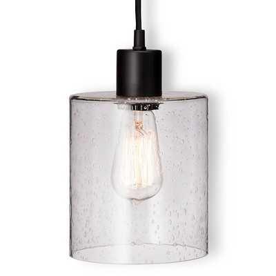Seeded Glass Industrial Lamp - Target