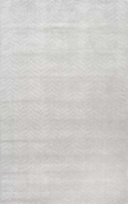 "Hand Woven Lundberg-Grey- 7'6"" x 9'6"" - Loom 23"