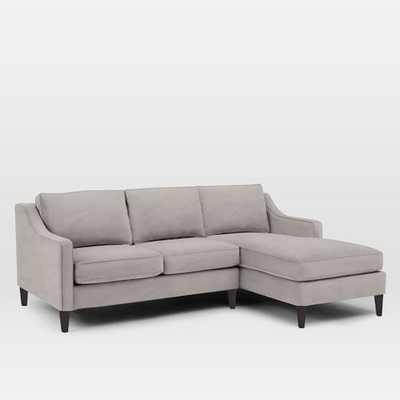 Paidge 2-Piece Chaise Sectional, Left Chaise - West Elm
