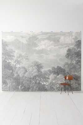 Etched Arcadia Mural - Anthropologie