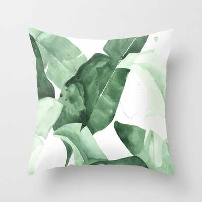 THROW PILLOW/ INDOOR COVER - 18x18, With Insert - Society6