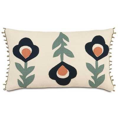 Folkloric Moraea Lumbar Pillow by Eastern Accents - AllModern