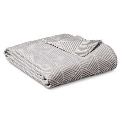 "Thresholdâ""¢ Ringspun Cotton Fashion Blanket - Target"