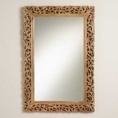 Natural Segovia Mirror - World Market/Cost Plus