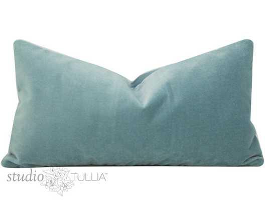 Velvet Pillow Cover - 12 x 22 - Insert Sold Separately - Etsy