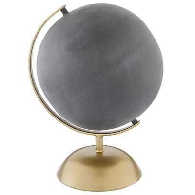 Gold Chalkboard Globe - Land of Nod