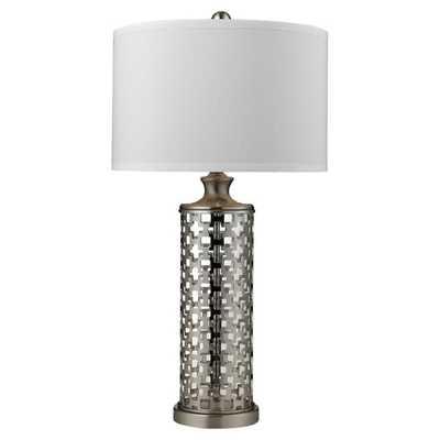 LATTICE TABLE LAMP - Dwell Studio