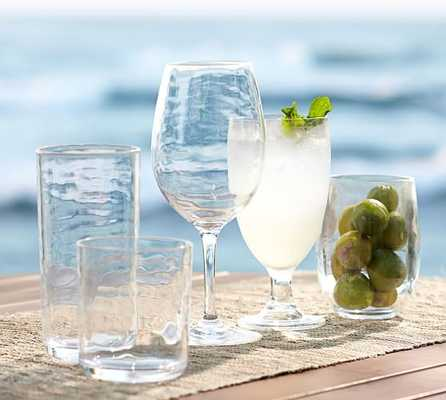 PB CLASSIC OUTDOOR DRINKWARE, DOUBLE OLD-FASHIONED-SET OF 6 - Pottery Barn
