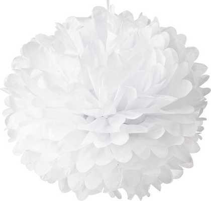 White Tissue Pom Poms/Paper Flowers - Etsy