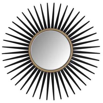 ABBYSON LIVING Alexia Round Wall Mirror - Overstock