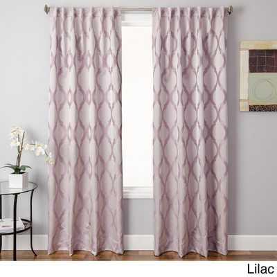 "Santee Back Tab Curtain Panel - 84"" - Overstock"