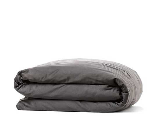 SATEEN DUVET COVER - Queen, Slate - Parachute