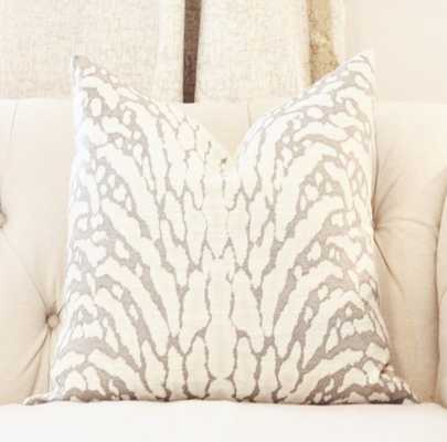 """Animal Print Pillow -18''x 18""""-Insert not included - Etsy"""