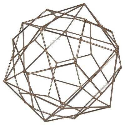 "Thresholdâ""¢ Metal Wire Decorative Figurine Extra Large Copper - Target"