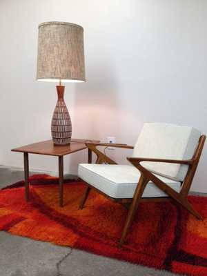 Danish Mid Century Modern Style Teak Lounge Chair - Etsy