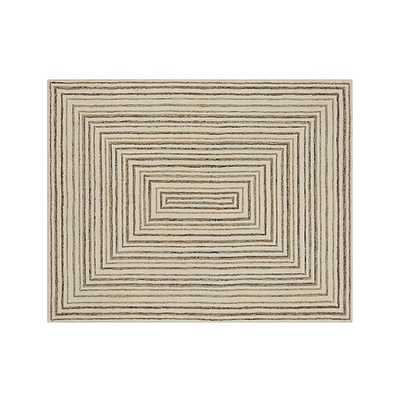 Ellwood Wool-Blend Rug - Crate and Barrel