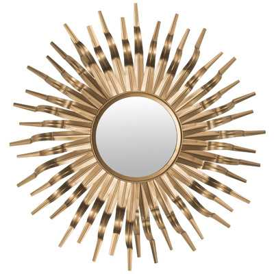 Ziek Sunburst Mirror - Gold - Wayfair