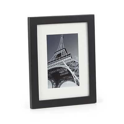Matte Black 4x6 Picture Frame - Crate and Barrel