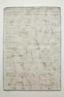 Whipstitch Rug - Silver - 8' x 10' - Anthropologie