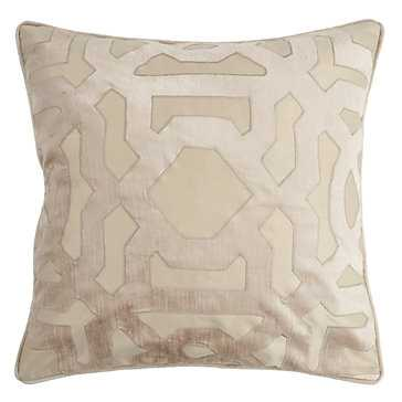 "Modello Pillow 22""-Gold- Feather/Down insert - Z Gallerie"