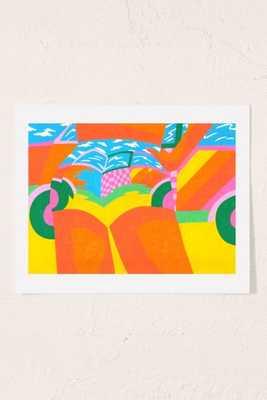 Annu Kilpelainen Bass Art Print - 18X24 - Unframed - Urban Outfitters