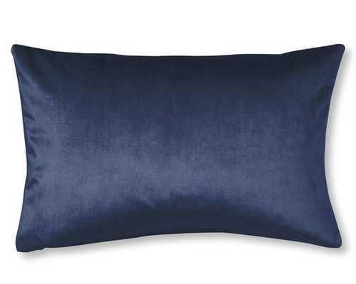 """Velvet Pillow Cover - 14"""" x 22"""" (No insert) - Williams Sonoma"""