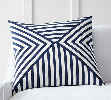 "Emmet Pillow Cover - 22"" x 22"" (No Insert) - Pottery Barn"
