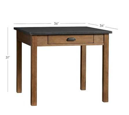 Channing Fixed Dining Table - Pottery Barn