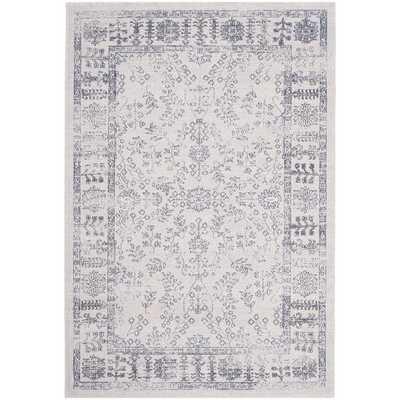 Safavieh Carmel Beige/ Blue Cotton Rug (9' x 12') - Overstock