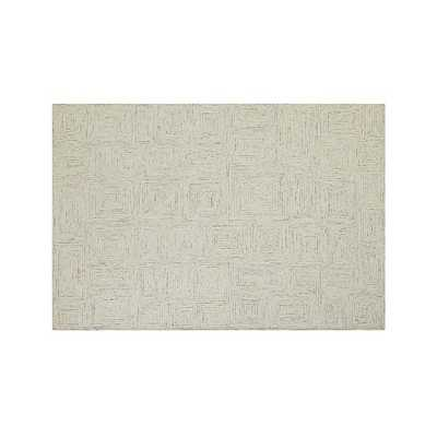 Presley Neutral Rug -5'x8' - Crate and Barrel