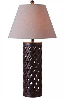 CUT-OUT TABLE LAMP - Home Decorators