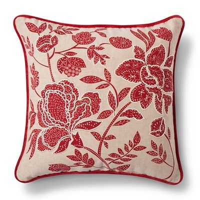 """Floral Throw Pillow-18''x 18""""-Insert inculded - Target"""